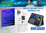 RELOJ CONTROL DE ASISTENCIA MODELOS: TK-100 Y H8/MAXSOTEC EIRL/LIMA