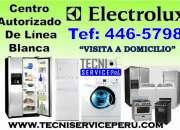 REPARACION A DOMICILIO /446-5798/ SERVICIO TECNICO DE REFRIGERADORAS ELECTROLUX MABE