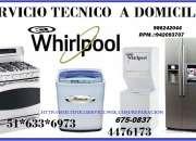 Servicio tecnico whirlpool de refrigeradoras 986242044
