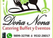 CATERING BUFFET EVENTOS