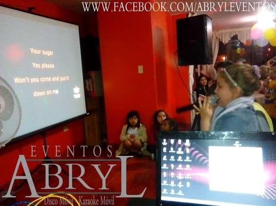 Alquiler de karaoke móvil en lima