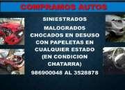 COMPRO AUTOS MALOGRADOS CHOCADOS EN CUALQUIER ESTADO 986900048