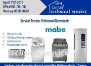 Reparacion  Y mantenimiento de cocinas Mabe 7222079??Tecnicos profesionales