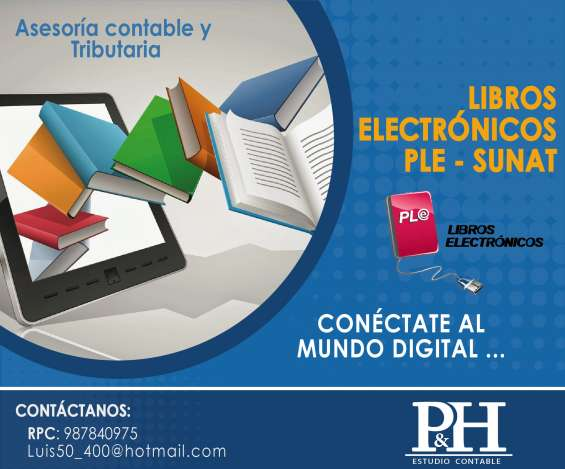 Libros electronicos ple - sunat