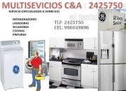 refrigeradores (general electric) mantenimiento ? 2425750 domicilio ?