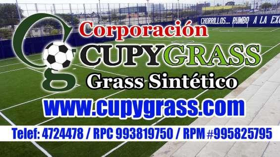 Instalación de cesped artificial futbol