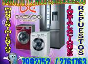 "Servicio técnico secadoras - lavasecas  ""daewoo"" 7992752"