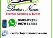 Eventos Catering & Buffet DOÑA NONA