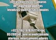 978267774, cámaras de seguridad chachapoyas, cercos eléctricos, puertas levadizas, alarmas