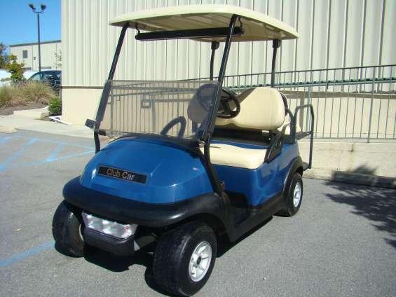 Carrito golf club car azul 2005 $3,300