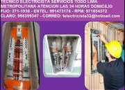 Electricista Pueblo Libre Domicilio Amperio 991473178 - 971654372