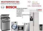 SERVICIO TÉCNICO DE REFRIGERADORES BOSCH LIMA 3004293 LIMA