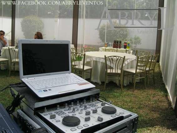 Alquiler de equipos y servicios para eventos y fiestas en lima
