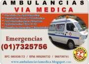 Traslados de pacientes en ambulancias
