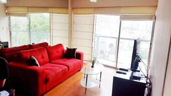 Exclusivo y amplio departamento de 1 dormitorio en reducto miraflores