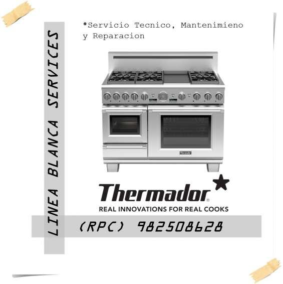 Thermador cocinas mantenimiento servicio tecnico lima