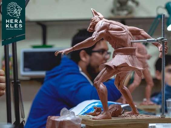 Esculturas en bronce, resina poliester.