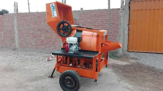 Mezcladora concreto tolva 9 p3 motor kohler 19 hp s/.10,999.00 (998368848/999097204)