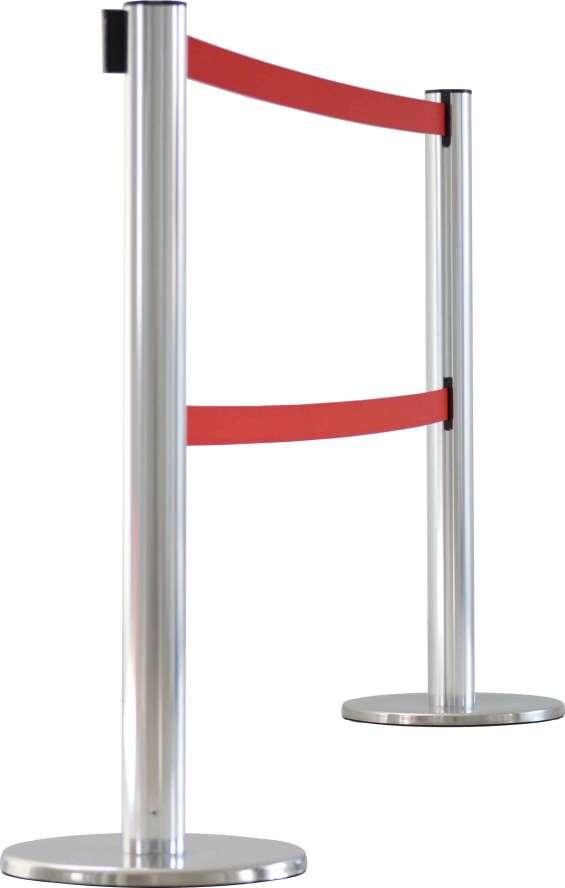 Ordenador de cola con cinta retractil - doble cinta