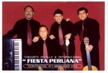 Conjunto criollo y bailable fiesta peruana