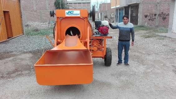 Mezcladora concreto tolva 9 p3 motor honda 13hp s/.10,990.00 (999097204)