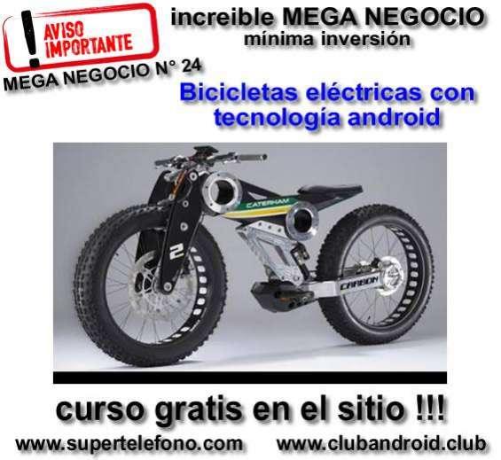 Mega negocio de bicicleta eléctrica.