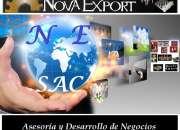 Asesor comercio exterior: import / export