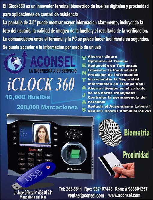 Relojes para el control de asistencia