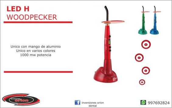 Led fotocurado h woodpecker