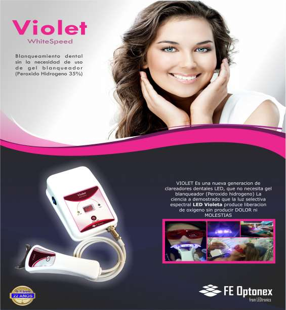 Lampara de blanqeamiento dental
