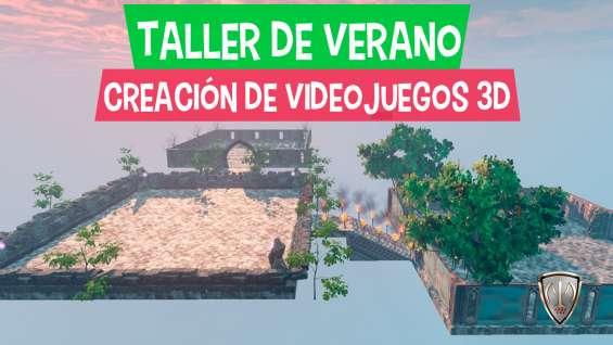 Vacaciones utiles para niños 2018: creación de video juegos y animación 3d