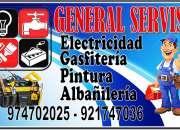 Electricistas gasfiteros