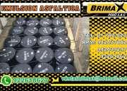 Venta de emulsion asfaltica lenta css-1, (brimax peru sac)