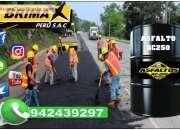 En lima y provincia, venta de asfalto en caliente, telf. 01-7820233.