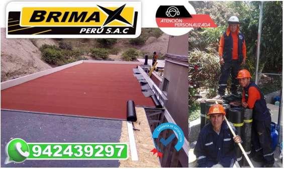 En lima y provincia, servicio de instalacion de manto asfaltico.