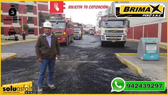Venta de asfalto liquido servicios de imprimacion asfaltica