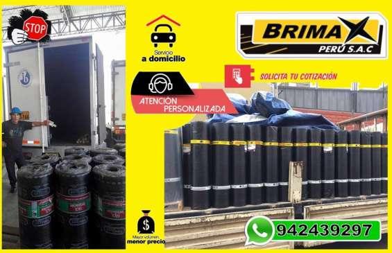 Brimax peru sac; venta de manto asfaltico.