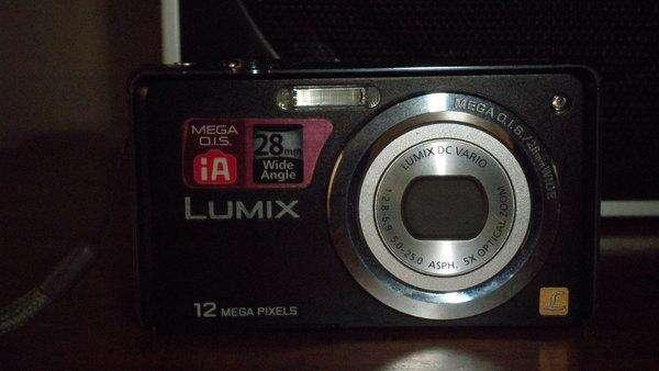Camara digital panasonic lumix de 12.0 mpx