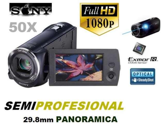 Camara filmadora semiprofesional sony cx290 fullhd remate