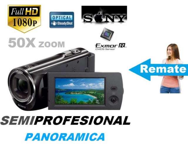 Filmadora sony cx290 semiprofesional camara filmadora remate fullhd