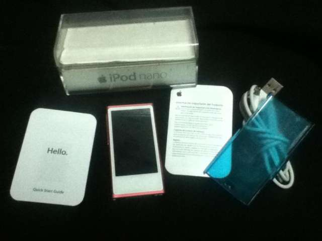 Ipod nano 7g generacion de 16gb como nuevo !!!
