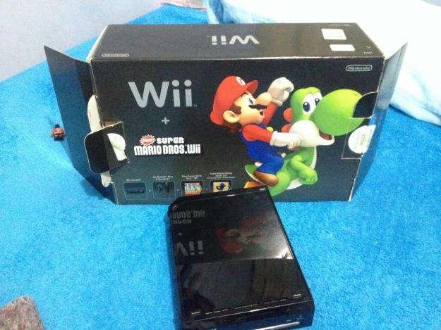 Nintendo wii como nuevo