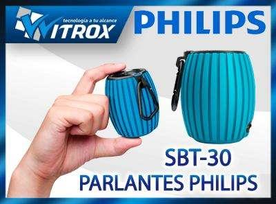 Parlante philips portátil inalambrico bluetooth p/celular, nuevos y sellados