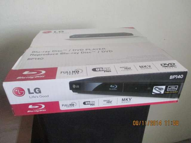 Vendo blu ray lg modelo bp140 nuevo en caja sellado