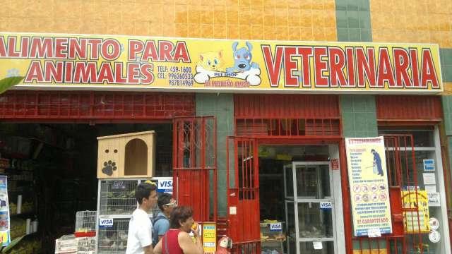Veterinaria y pet shop mi pequeño amigo