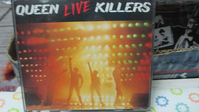 Cd original de queen live killers made in usa