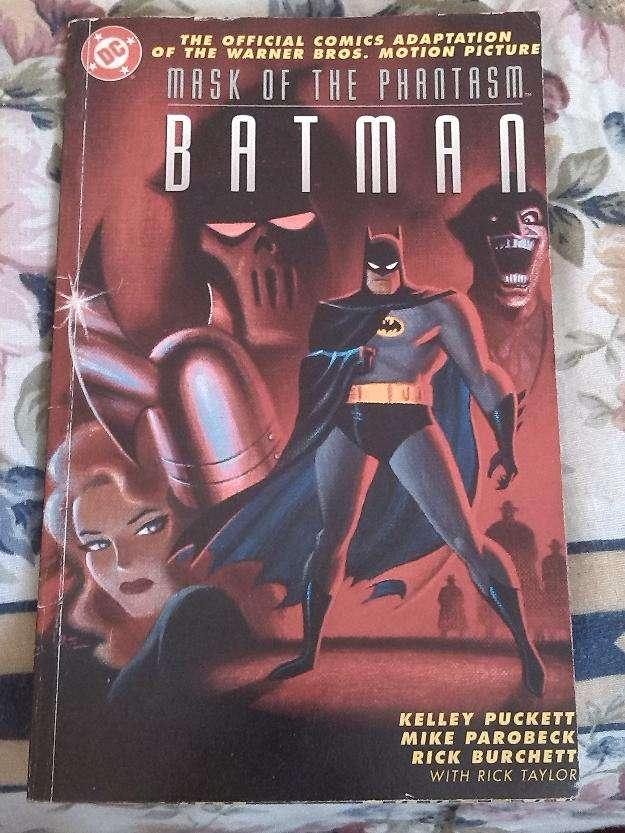 Comic batman dc batman mask of the phantasm 1993