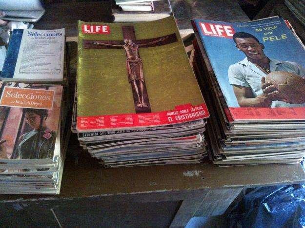 Revistas del 50 y 60 (life, selecciones, bohemia ).