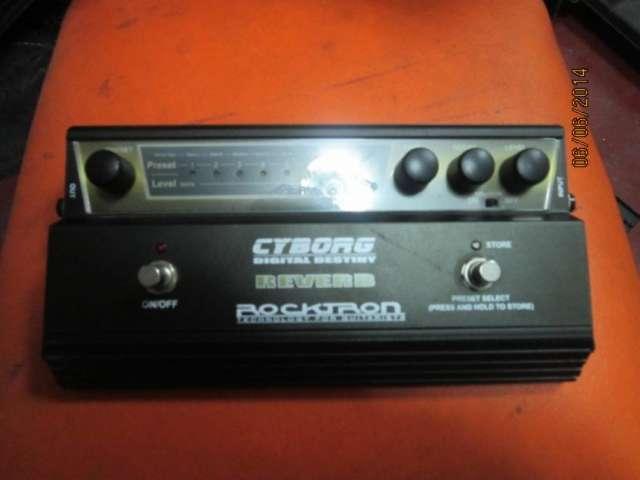Rocktron reverb digital no boss zoom line 6 korg