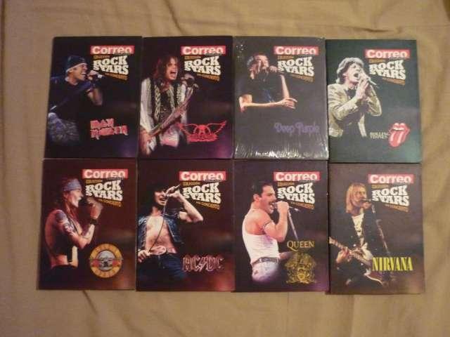 Vendo colección dvd bandas de rock en concierto originales